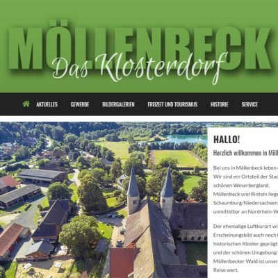 screenshot moellenbeck-info.de