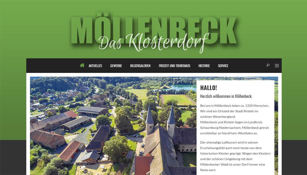 screenshot moellenbeck-info.de