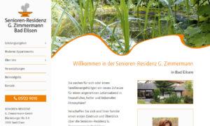 Screenshot senioren-residenz-zimmermann.de