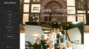 Screenshot team-friseur.de
