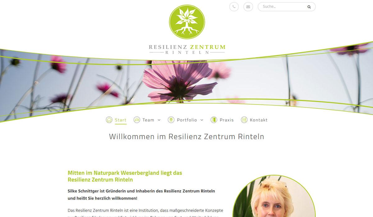 Screenshot Webseite rezeri.de